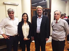ASC receives Professor Colin Barrow from Deakin University
