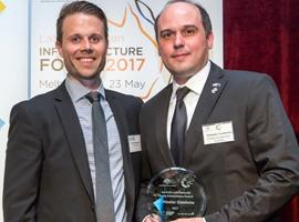 Executive board member receives an international entrepreneurship award